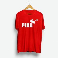 Pokemon Fans Pika Puma Parody T-Shirt