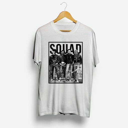 Squad Hallowen T Shirt For Concert