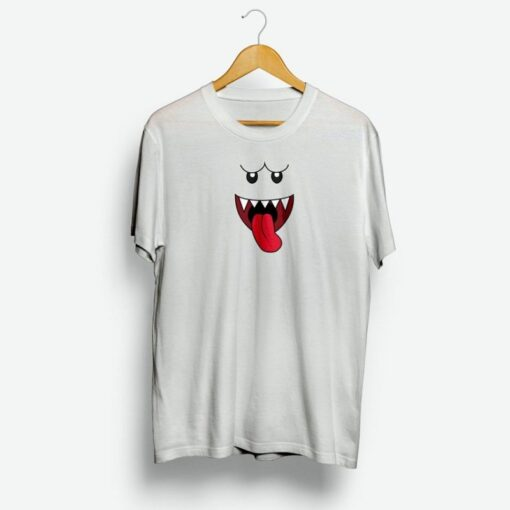 Custom Face Ghost In Hallowen T-shirt