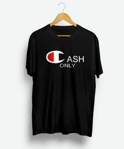 Cash x Champion Parody Shirt