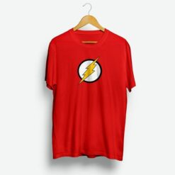 The Flash Distressed Logo Mens T-Shirt