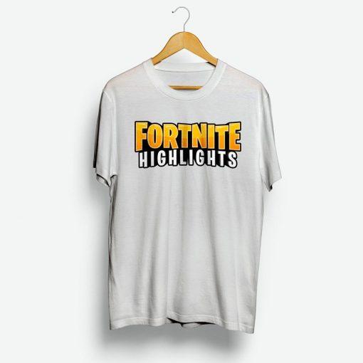 Fortnite Highlights T-Shirt Custom Toddler Shirts For Women's Or Men's