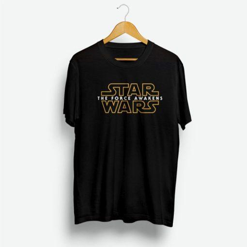 Star Wars The Force Awakens Logo Shirt