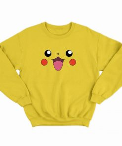 pikachu Pika pika chuuu Pokemon Sweatshirt