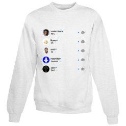 Cheap For Sale Why Do All Legend Die Instagram Sweatshirt