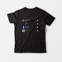 XXX 2Pac MacMiller Avicii Why Do Legends Die T-Shirt