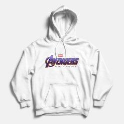 avenger endgame logo hoodie grey