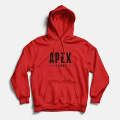 Apex Legends Gaming Hoodie Red
