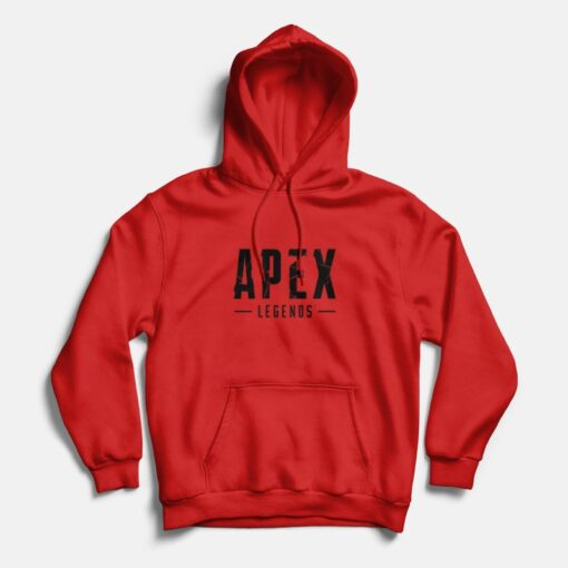 Apex Legends Gaming Hoodie Red