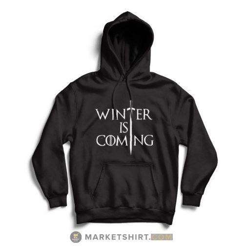 Game of Thrones Winter is Coming T-shirt Hoodie Black