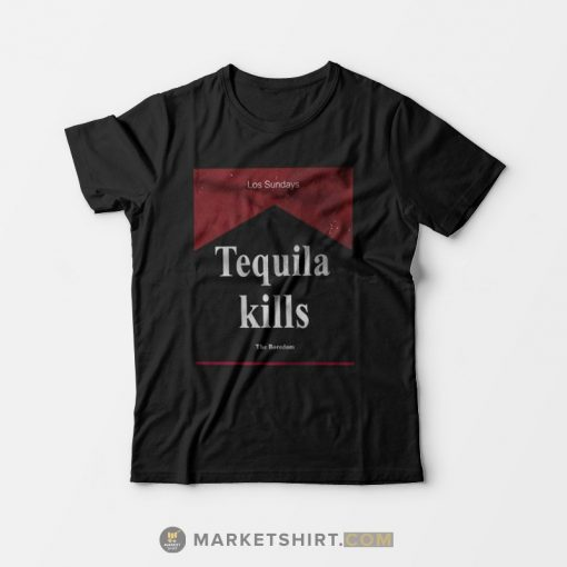 Tequila Kills Los Sundays T-shirt The Boredom Black