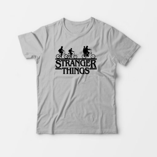 Stranger Things Bike T-Shirt Upside Down