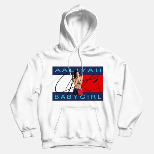 Aaliyah Baby Girl Hoodies