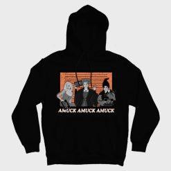 Amuck Amuck Amuck Mugshot Hoodies