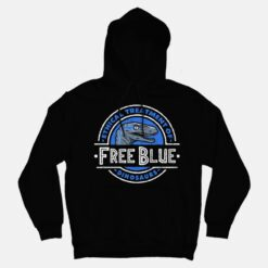 Free Blue Ethical Treatment Of Dinosaurus Hoodies