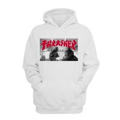 Thrasher X Godzilla Collection Hoodies