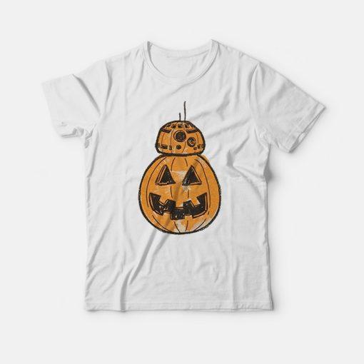 Star Wars BB-8 Pumpkin Halloween Shirt