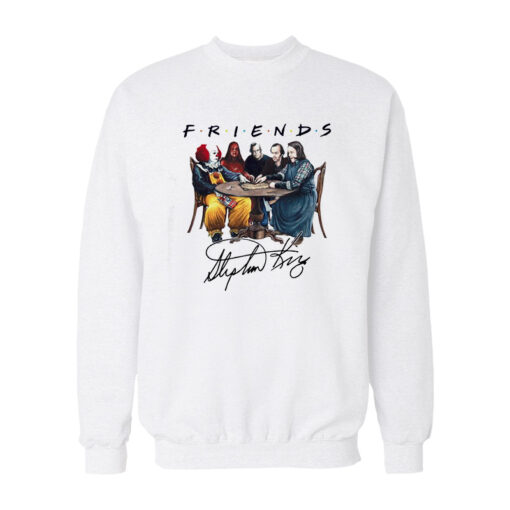 Stephen King Horror Friends Signature Sweatshirt
