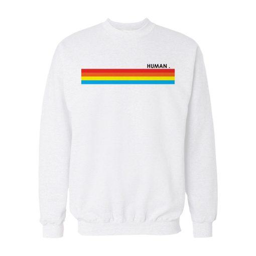 Rainbow Human Sweatshirt