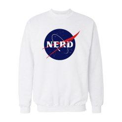 Nerd X Nasa Logo Sweatshirt