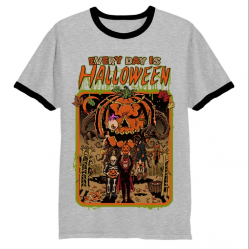 Every Day Is Halloween Ringer T-Shirt