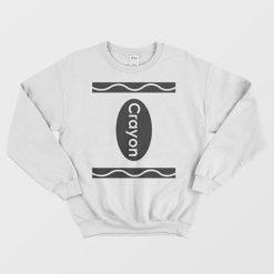 Crayon Costume Sweatshirt Trendy Clothing