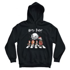 Harry Potter Santa Claus Abbey Road Christmas Hoodie