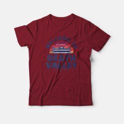 LSU Tigers Death Valley Sunset Garment Pocket T-Shirt