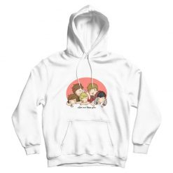 Let Me Kiss You One Direction Cartoon Hoodie