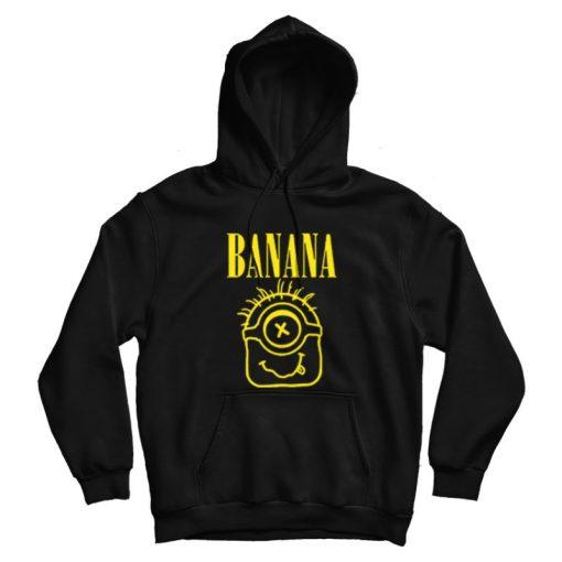 Minions Banana Parody Nirvana Hoodie