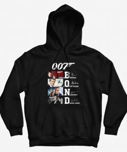 007 Bond Pierce Brosnan Roger Moore Sean Connery Daniel Hoodie