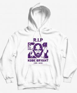 RIP Kobe Bryant Black Mamba Hoodie