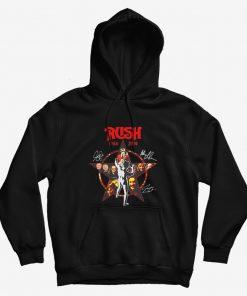 Rush 1968 2020 Star Signatures Hoodie