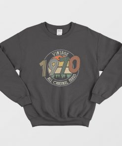 Vintage 1970 All Original Parts Sweatshirt