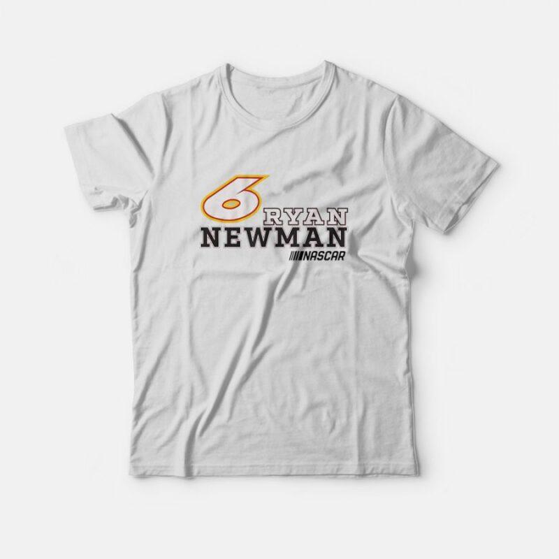 6 Ryan Newman Bold NASCAR T-Shirt