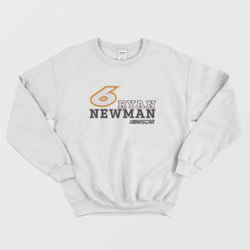 6 Ryan Newman Bold NASCAR Sweatshirt