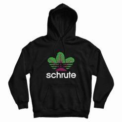 Adidas Beetroot Schrute Hoodie