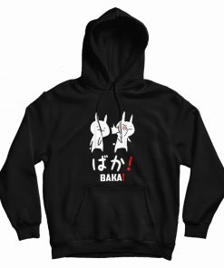 Anime Baka Rabbit Slap Japanese Hoodie