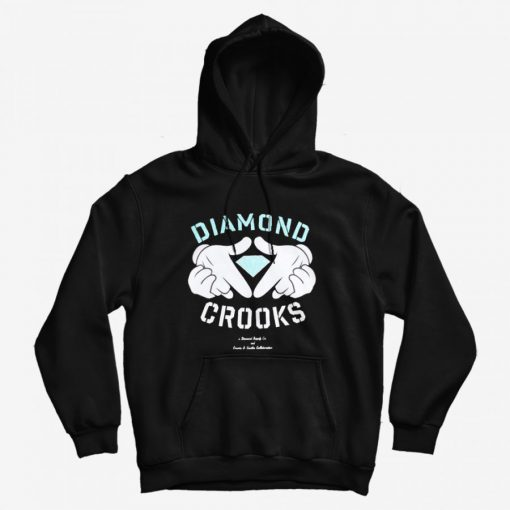 Diamond Supply Co X Crooks And Castles Hoodie
