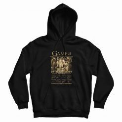 Game Of Thrones 09th Anniversary 2011 2020 Hoodie