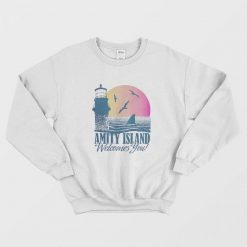 Jaws Amity Island Tourist Welcome Sweatshirt