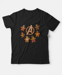 Marvel Avengers Gingerbread Cookies T-Shirt