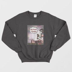 My Forever Valentine Sweet Morbid Dark Heart Break Sweatshirt