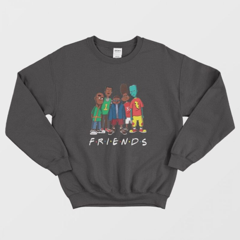 Skeeter Doug Fillmore Recess Vince Sticky Friends Sweatshirt