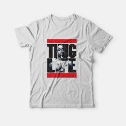 Tupac Thug Life Run Dmc Parody T-Shirt