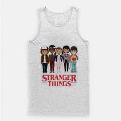 Angry Cartoon Face Stranger Things Tank Top