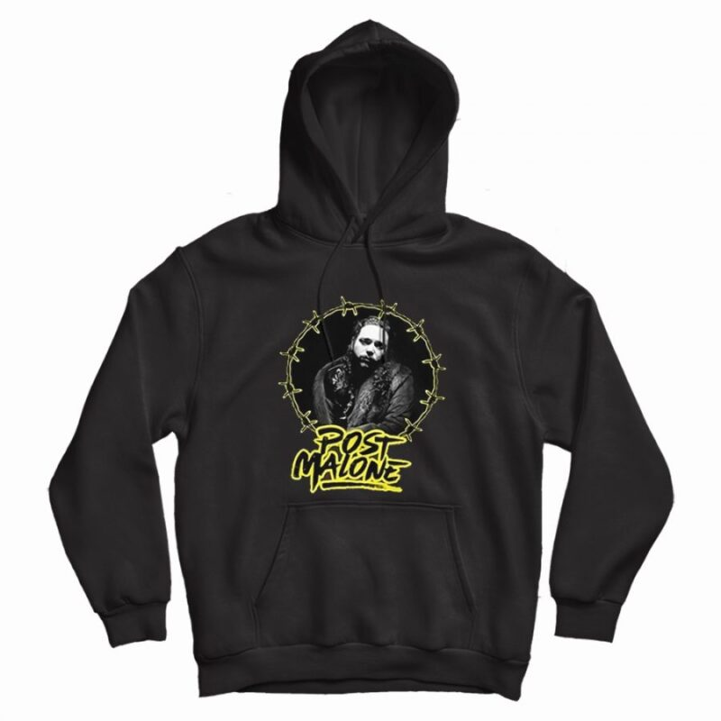 Hip Hop Tour Post Malone Graphic Hoodie