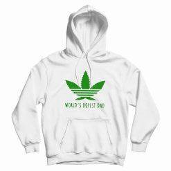 Adidas Weed World's Dopest Dad Hoodie