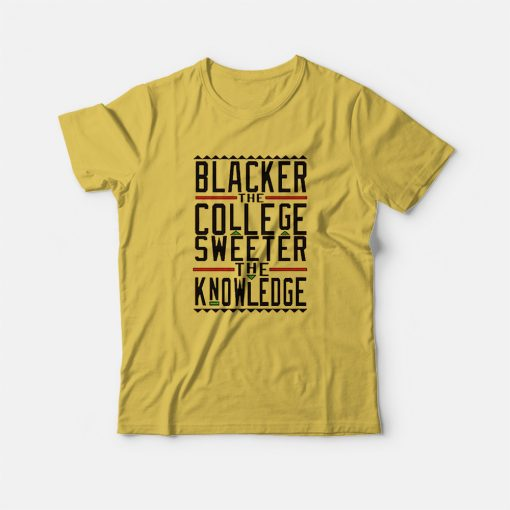Blacker The College Sweater The Knowledge T-Shirt