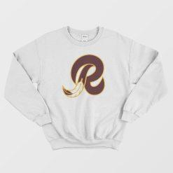 Washington Redskins R Logo Sweatshirt